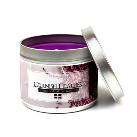 Cornish Heather scented candle | Happy Piranha