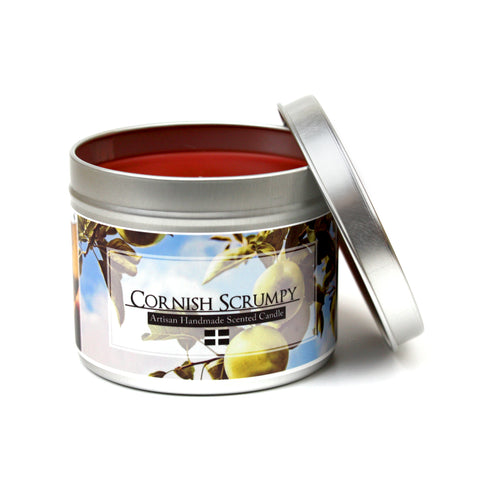 Cornish scrumpy scented candle | Happy Piranha