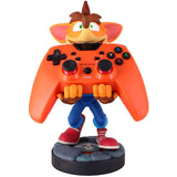 Crash Bandicoot Cable Guy Phone and Controller Holder Holding an Xbox Controller | Happy Piranha