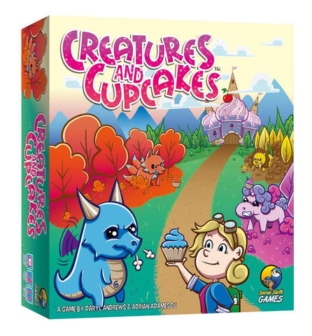 Creatures and Cupcakes Board Game | Happy Piranha