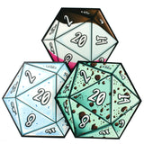 D20 Dice Coaster 3 Set (Ice Cream) | Happy Piranha