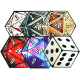 D20 Dice Coaster 6 Set | Happy Piranha