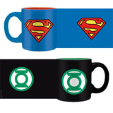 DC Comics Superman & Green Lantern Mini Espresso Mug designs | Happy Piranha