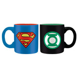 DC Comics Superman & Green Lantern Mini-mugs | Happy Piranha