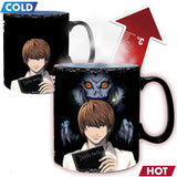 Death Note - Kira & L King Size Heat Change Mug | Happy Piranha