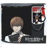 Death Note - Kira & L King Size Heat Change Mug in its Packaging | Happy Piranha