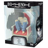 Death Note: L on Chair 1:10 Scale Action Figure in Packaging | Happy Piranha