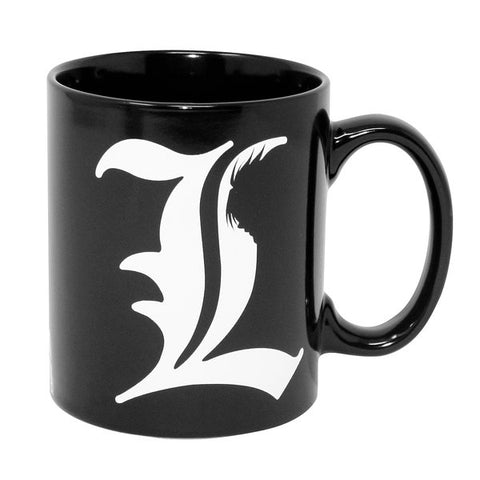 Death Note L & Rules Mug | Happy Piranha