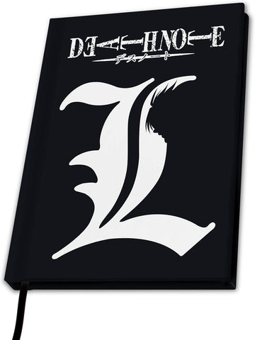 Death Note 'L' A5  Lined Notebook | Happy Piranha
