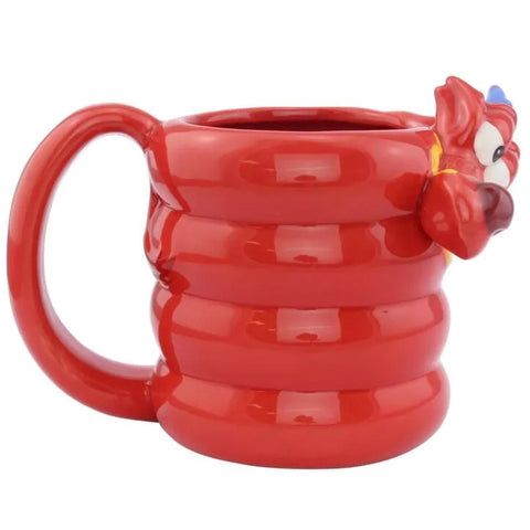 Disney Mulan Mushu Dragon Shaped Mug | Happy Piranha
