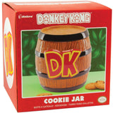 Donkey Kong Barrel Oversized Ceramic Cookie Jar In Its Packaging  | Happy Piranha