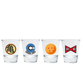 Dragon Ball Z Shot Glass Set | Happy Piranha