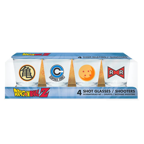 Dragon Ball Z Shot Glass Set in box | Happy Piranha