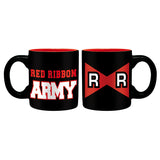 Dragon Ball Z Red Ribbon Army Mini-Mug Design | Happy Piranha