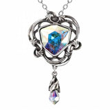 Empyrean Eye Pewter and Swarovski Crystal Pendant | Happy Piranha