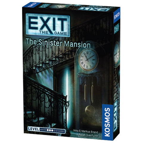 EXIT: The Sinister Mansion - Escape Room Board Game | Happy Piranha