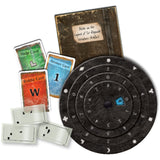 EXIT: The Cemetery of the Knight - Escape Room Board Game Example Box Contents | Happy Piranha