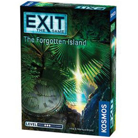 EXIT: The Forgotten Island - Escape Room Board Game | Happy Piranha
