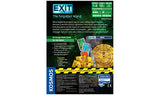 EXIT: The Forgotten Island - Escape Room Board Game Back of Box | Happy Piranha