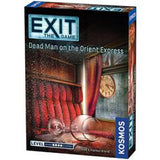 EXIT: Dead Man on the Orient Express Escape Room Board Game | Happy Piranha