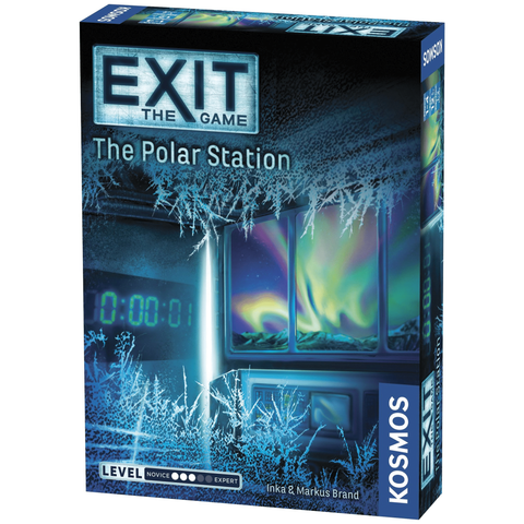 EXIT: The Polar Station - Escape Room Board Game | Happy Piranha