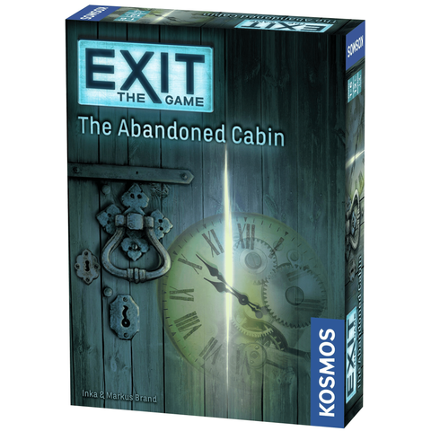 EXIT: The Abandoned Cabin - Escape Room Board Game | Happy Piranha