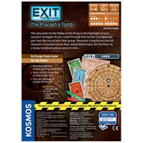 EXIT: The Pharaoh's Tomb - Escape Room Board Game Back of Box | Happy Piranha