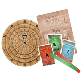 EXIT: The Pharaoh's Tomb - Escape Room Board Game Contents | Happy Piranha