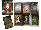 The Faery Forest: An Oracle of the Wild Green World Box and Cards | Happy Piranha