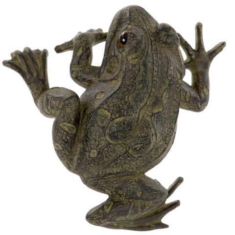 Climbing Fence Frog Ornament | Happy Piranha