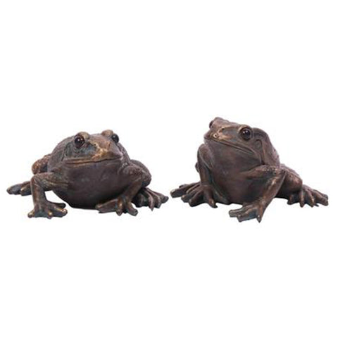 Large pair of frogs ornament | Happy Piranha