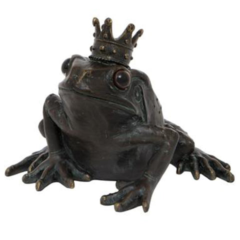 Frog Prince with Crown Ornament | Happy Piranha