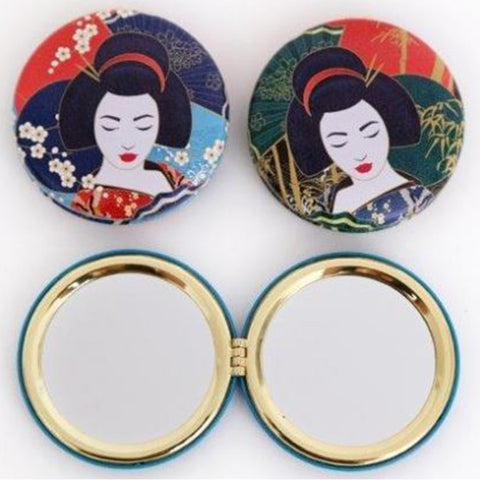 Geisha Compact Mirror | Happy Piranha