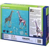 Giraffe Anatomy - 3D Anatomical Model Back of Packaging | Happy Piranha