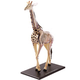 Giraffe Anatomy - 3D Anatomical Model Front Profile | Happy Piranha