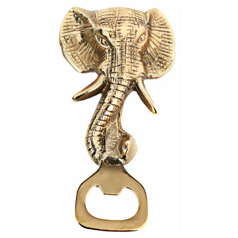 Gold Elephant Aluminium Bottle Opener | Happy Piranha