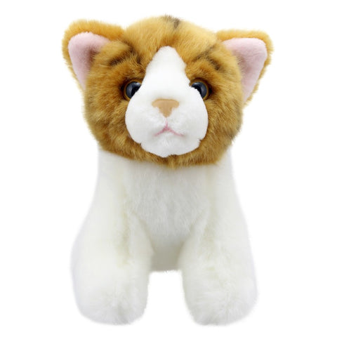 Gold Stripe Cat Mini Soft Toy | Happy Piranha