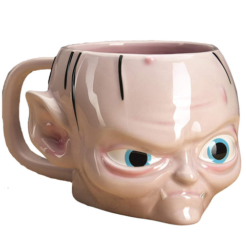 Lord of The Rings Gollum Face Shaped Mug | Happy Piranha