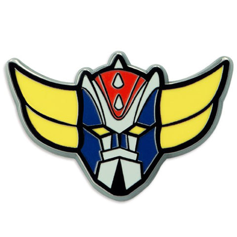 Force Five: Grendizer Enamelled Pin Badge | Happy Piranha