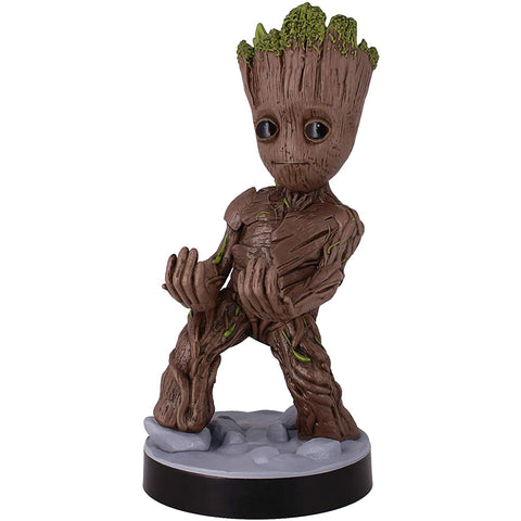 Marvel Avengers Baby Groot Cable Guy Front View | Happy Piranha