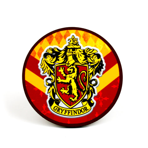 Gryffindor Hogwarts House Harry Potter Coaster | Happy Piranha