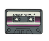 Marvel Guardians of the Galaxy Awesome Mix Tape Pin Badge | Happy Piranha