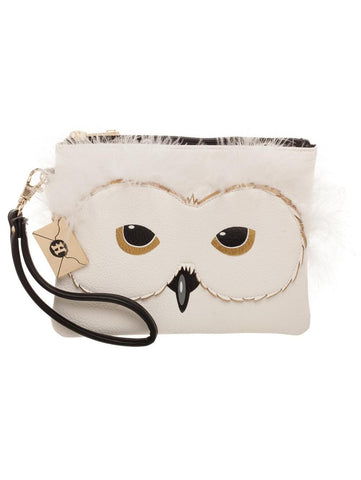 Hedwig the Owl White Harry Potter Purse / Wristlet | Happy Piranha