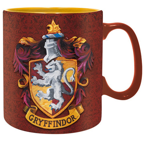 Gryffindor - King Size Harry Potter Mug with House Crest | Happy Piranha