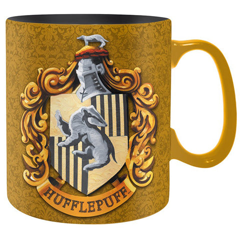 Hufflepuff - King Size Harry Potter Mug with House Crest | Happy Piranha