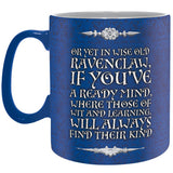Ravenvlaw - King Size Harry Potter Mug Back Design | Happy Piranha
