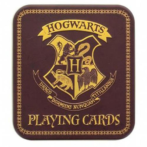 Harry Potter Hogwarts Playing Cards | Happy Piranha