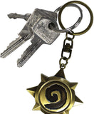 Hearthstone Rosace 3D Keychain on a set of keys | Happy Piranha