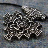 Hiddensee Pewter Viking Age Pendant Closeup | Happy Piranha