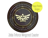 Legend fo Zelda Coaster - Geeky Gaming Gifts by Happy Piranha